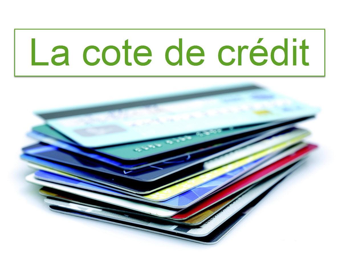 La cote de crédit